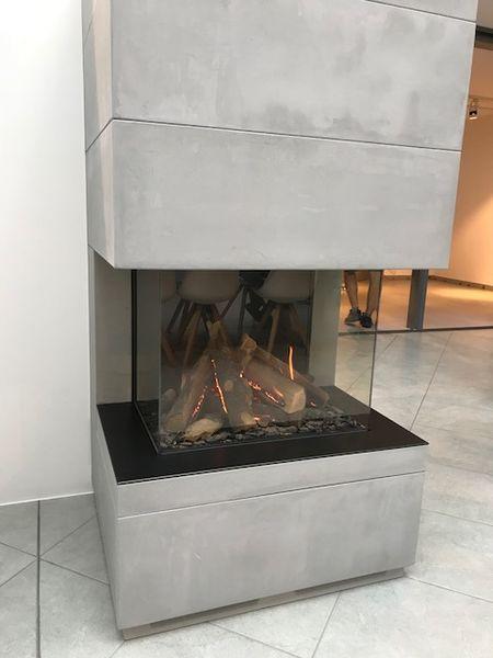 Kamineinsätze 3-seitig