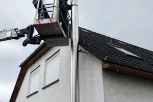 Edelstahl Schornstein Bausatz gebürstet Busse-Kamine Strasburg